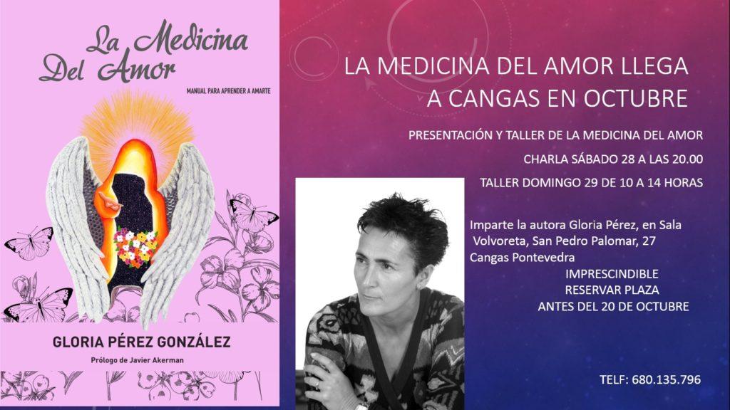 Medicina del amor llega a Cangas en Octubre