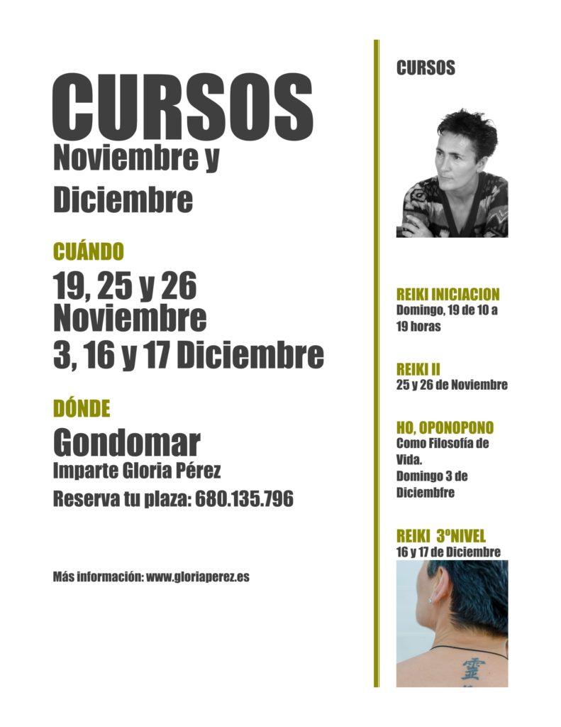 Cursos de Gloria Pérez